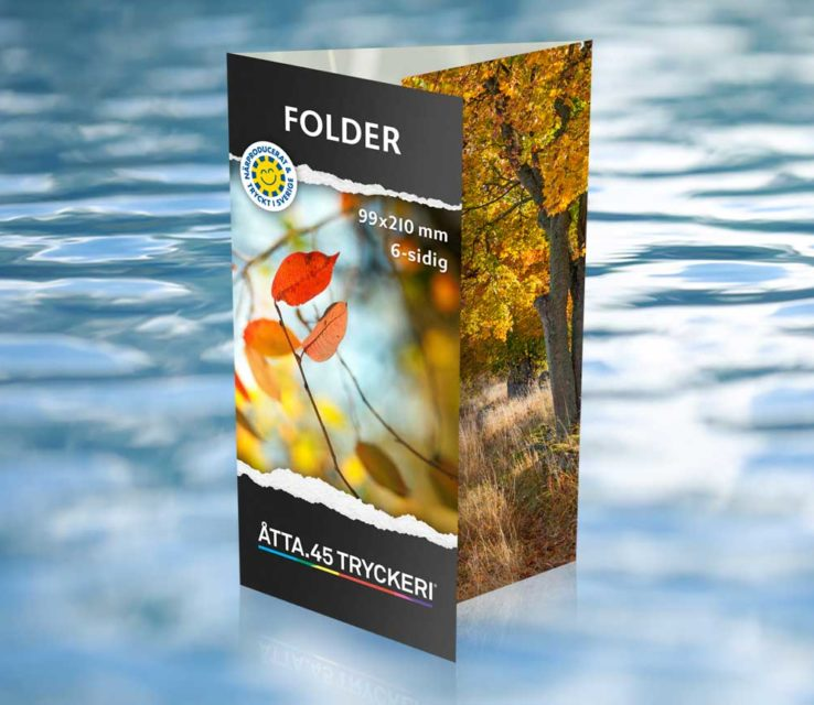 Folder Twisterställ Åtta.45 Tryckeri