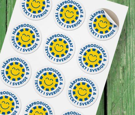 Åtta.45 Tryckeri Dekal Stickers Klistermärken