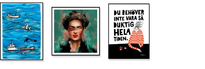 Tavlor Posters Åtta.45 Tryckeri