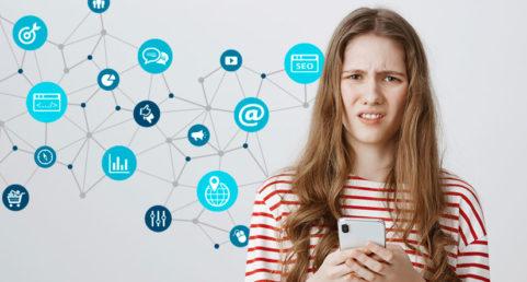 Reklam sociala medier Åtta.45 Tryckeri