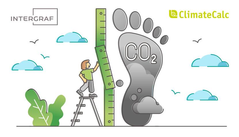 Grafiska Företagen ClimateCalc Åtta.45 Tryckeri Intergraf